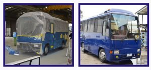 Bus refurbishment