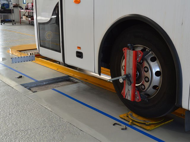 bus wheel alignment