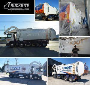 waste compactor truck repair