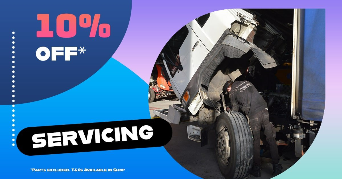 Truck Servicing Promotion