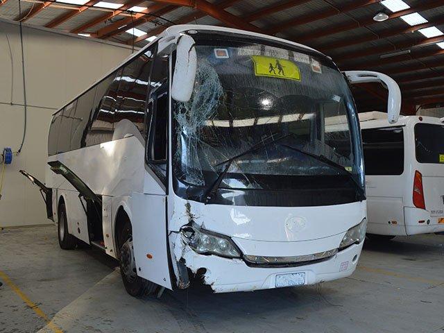 Bus crash repair